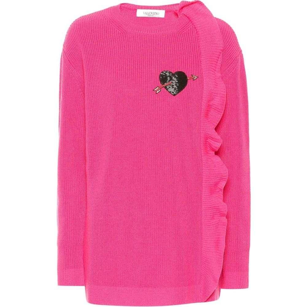 ヴァレンティノ Valentino レディース ニット・セーター トップス【cashmere sweater】Fuschia Pink