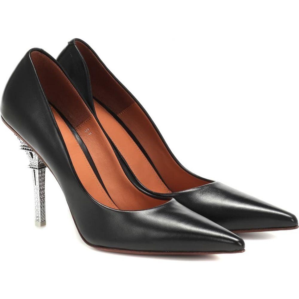 ヴェトモン Vetements レディース パンプス シューズ・靴【leather pumps】Black