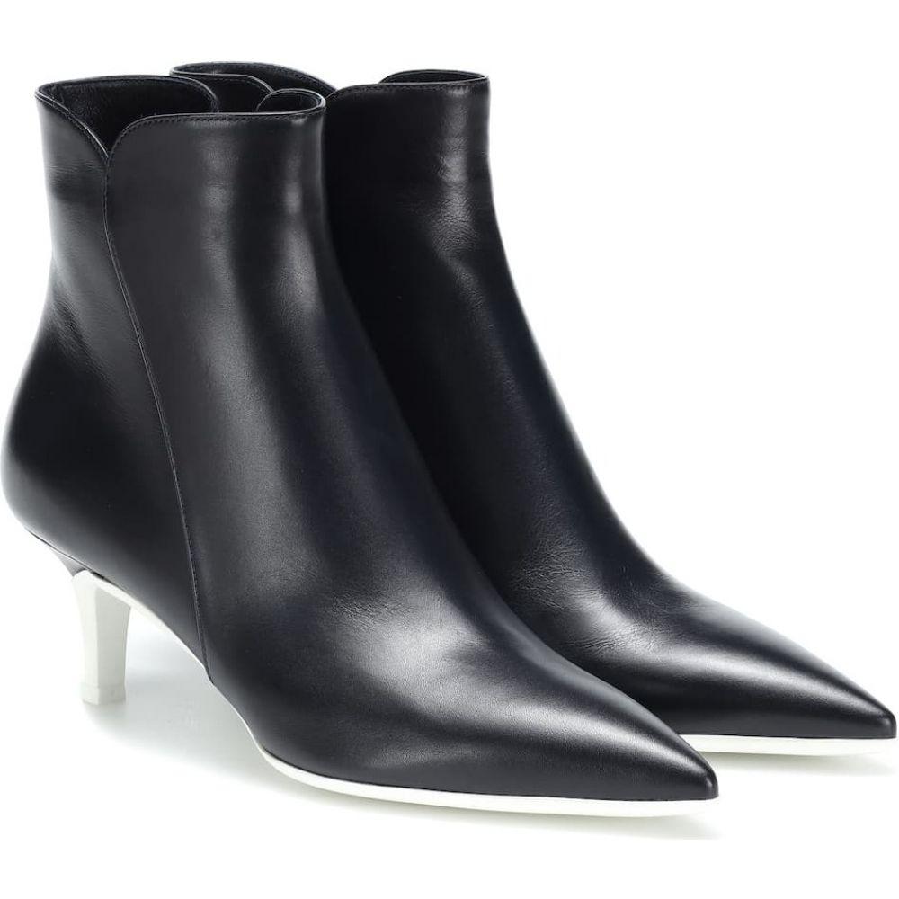 ジャンヴィト ロッシ Gianvito Rossi レディース ブーツ ショートブーツ シューズ・靴【levy 55 leather ankle boots】Denim