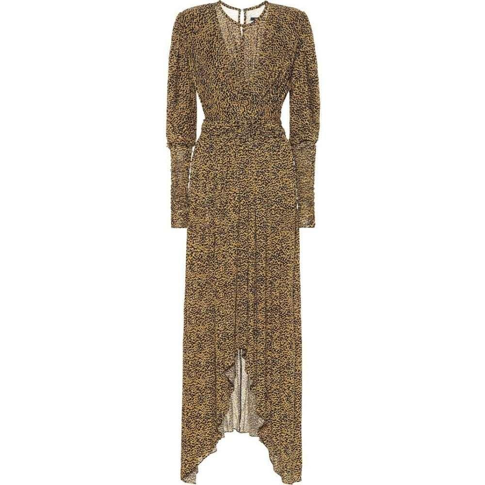 イザベル マラン Isabel Marant レディース ワンピース ワンピース・ドレス【jucienne printed crepe-jersey dress】Fauve