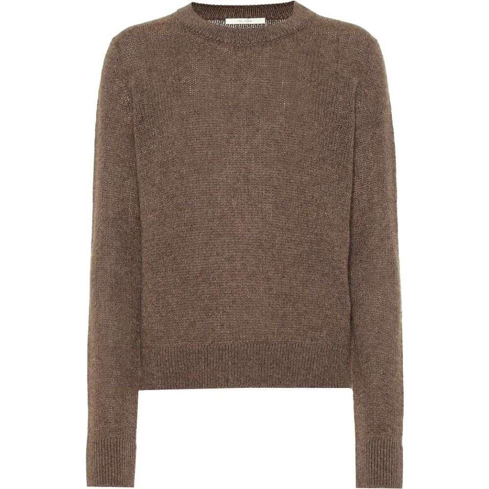 ザ ロウ The Row レディース ニット・セーター トップス【muriel cashmere sweater】Brown Melange