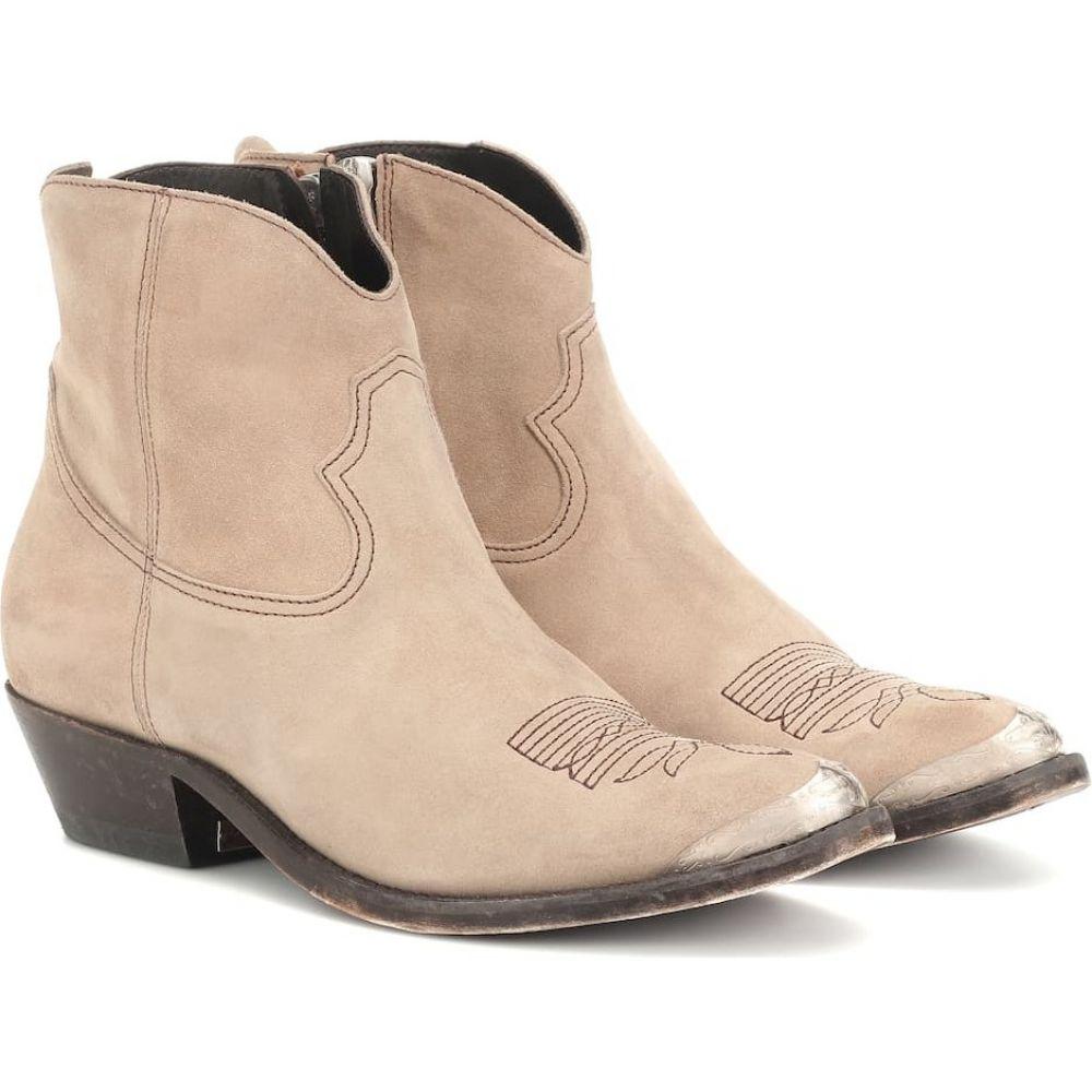 ゴールデン グース Golden Goose レディース ブーツ ショートブーツ シューズ・靴【young suede ankle boots】Mud Suede