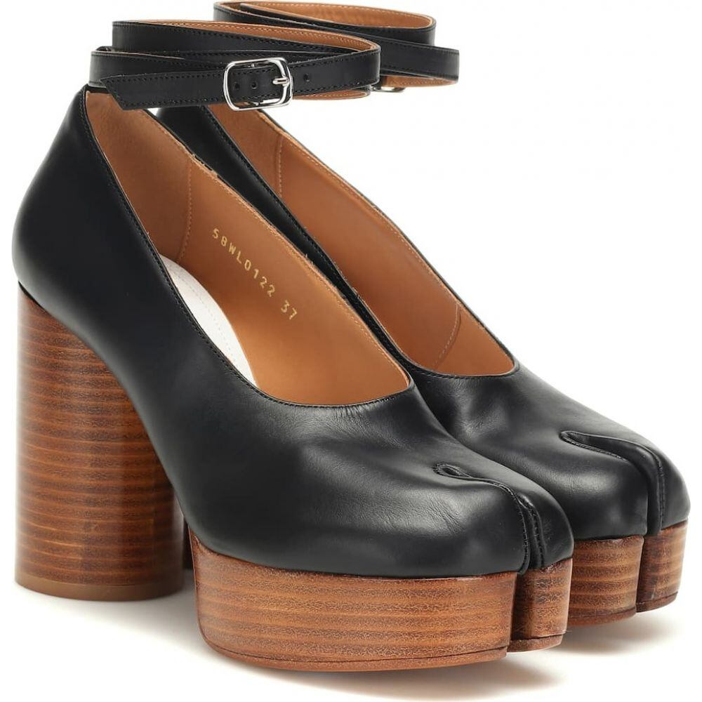 メゾン マルジェラ Maison Margiela レディース パンプス シューズ・靴【tabi leather plateau pumps】