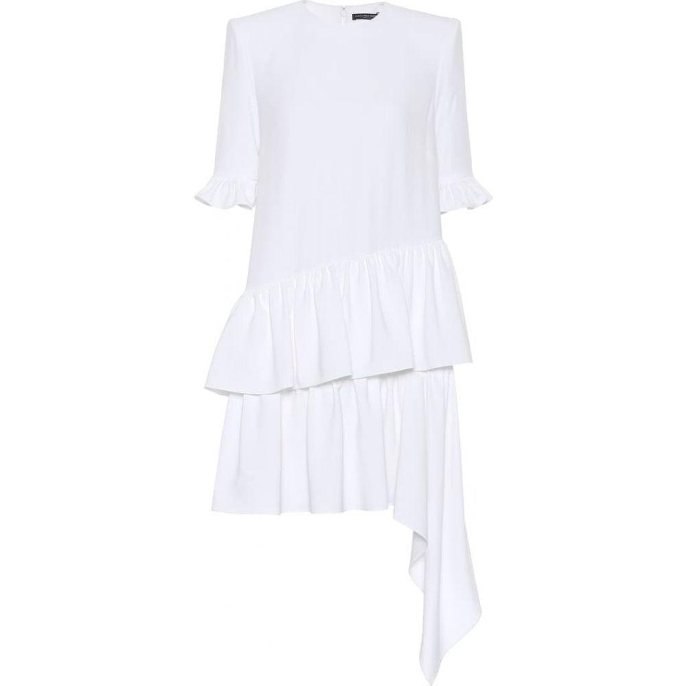 アレキサンダー マックイーン Alexander McQueen レディース ワンピース ワンピース・ドレス【Crepe dress】Ivory