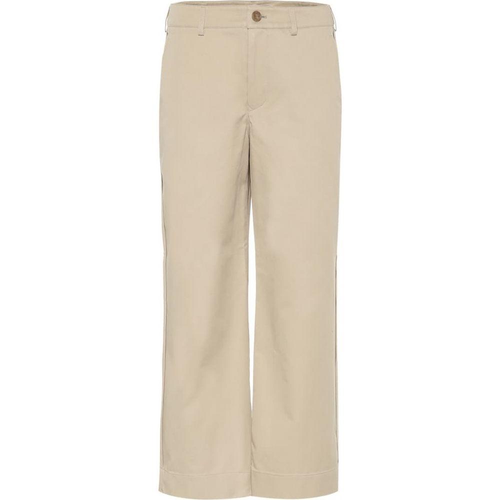 アクネ ストゥディオズ Acne Studios レディース クロップド ボトムス・パンツ【Cropped cotton pants】SAND BEIGE