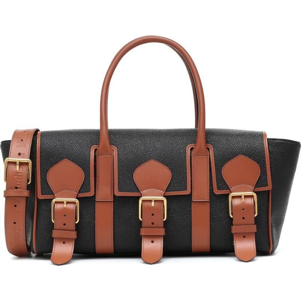 アクネ ストゥディオズ Acne Studios レディース ショルダーバッグ バッグ【x Mulberry Buckle Bayswater leather shoulder bag】Black