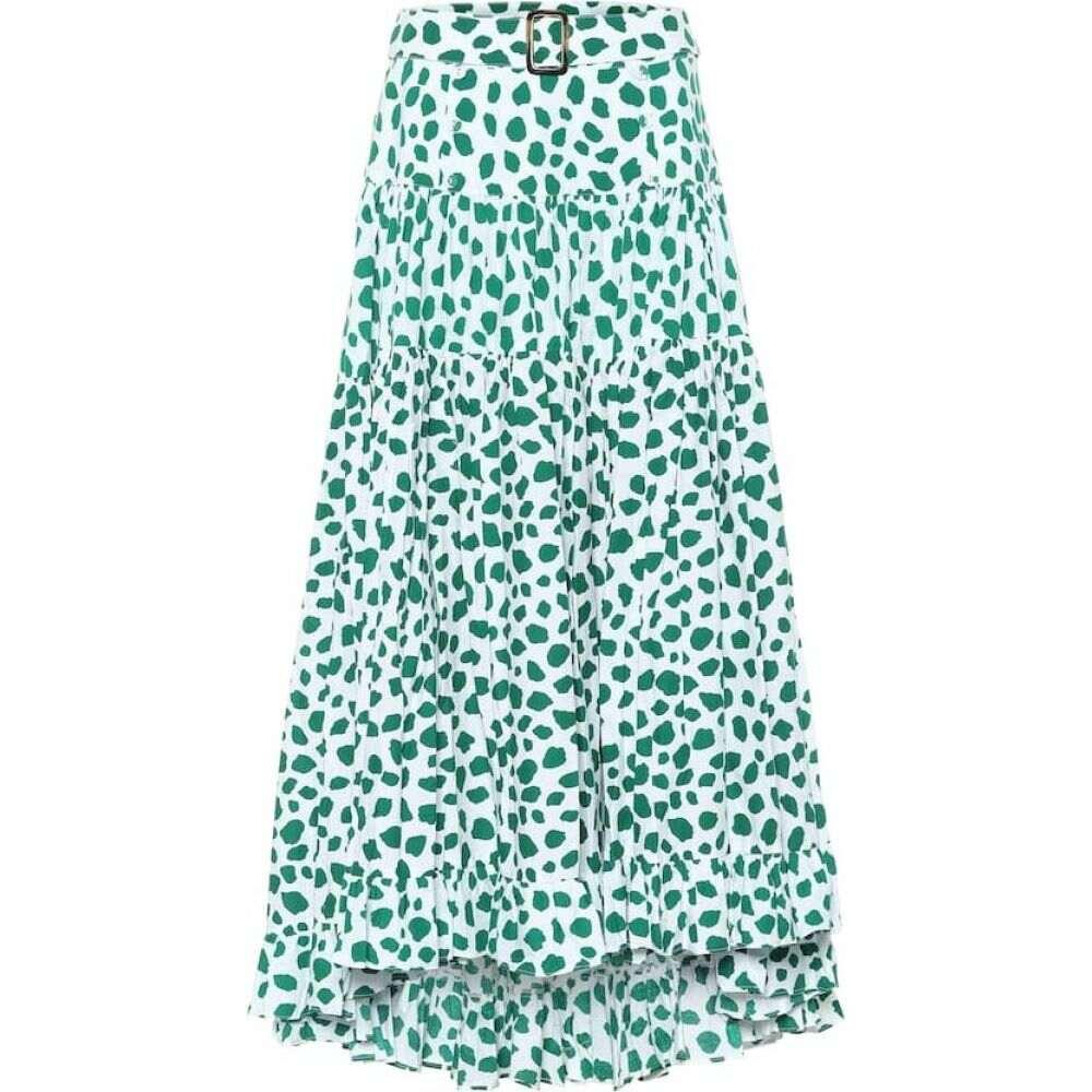 アレクサンドラ ミロ Alexandra Miro レディース ロング・マキシ丈スカート スカート【Penelope leopard-print cotton maxi skirt】Leo Print