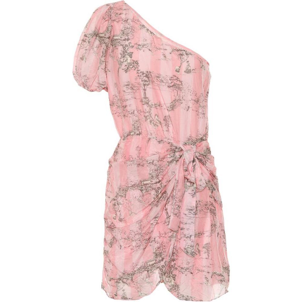 ラブシャックファンシー LoveShackFancy レディース ワンピース ワンピース・ドレス【Cotton and silk minidress】Chintzrose