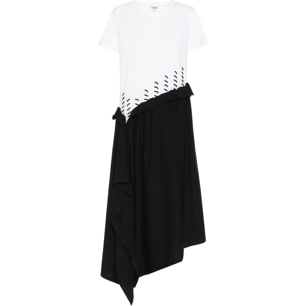 ロエベ Loewe レディース ワンピース ワンピース・ドレス【Asymmetric dress】Ecru
