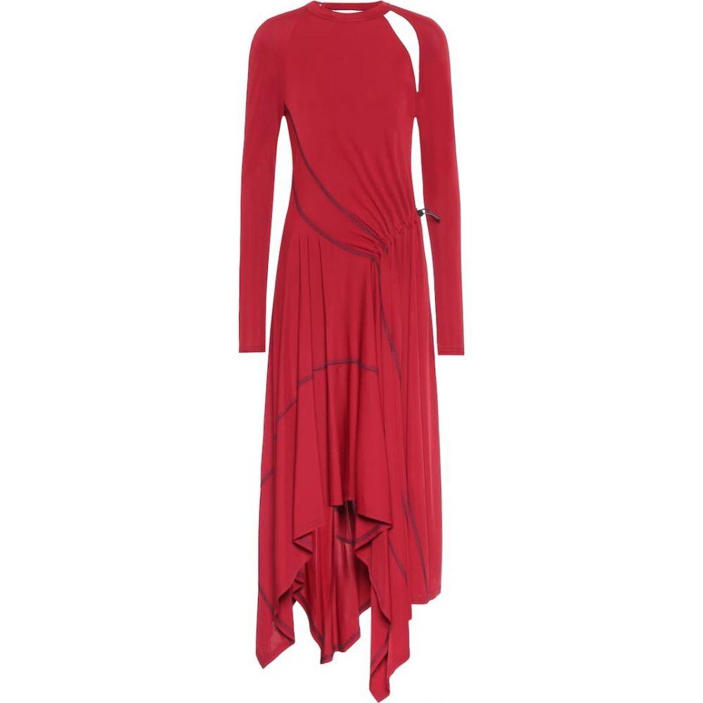 モンス Monse レディース ワンピース ワンピース・ドレス【Stretch-jersey dress】Burgundy
