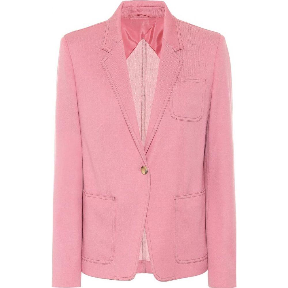 <title>マックスマーラ レディース アウター スーツ ジャケット サイズ交換無料 ご注文で当日配送 Max Mara Berlina wool blazer Rosa Bianco</title>