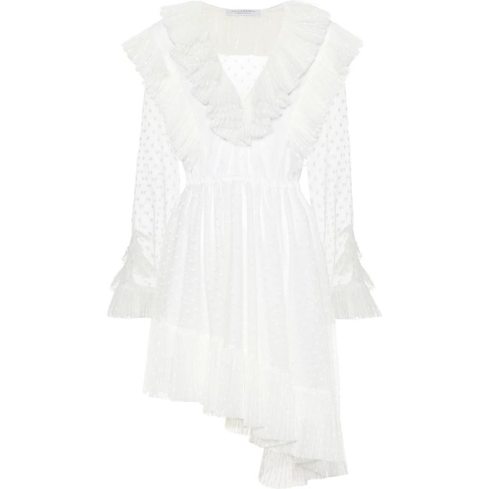 フィロソフィ ディ ロレンツォ セラフィニ Philosophy Di Lorenzo Serafini レディース ワンピース ワンピース・ドレス【Tulle dress】White