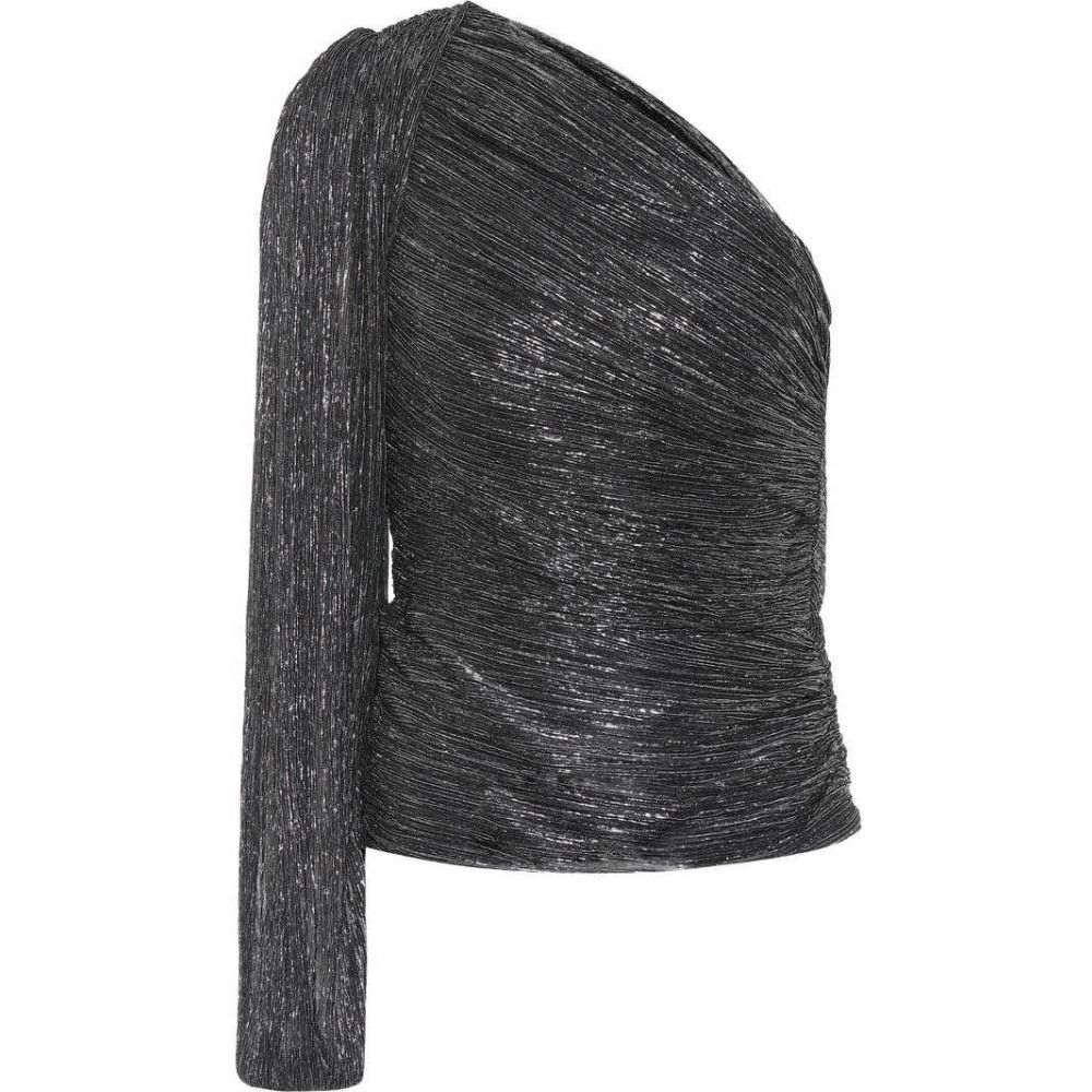 ピーター ピロット Peter Pilotto レディース トップス 【Pleated metallic jersey top】Black