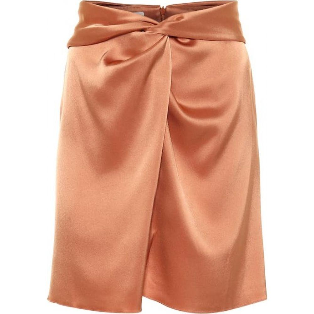 ナヌシュカ Nanushka レディース ミニスカート スカート【Milo satin miniskirt】Apricot