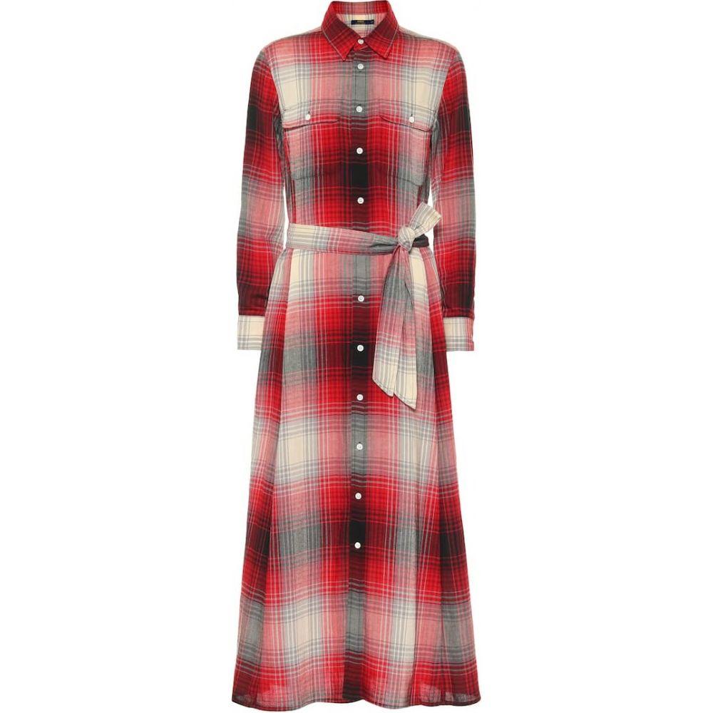 ラルフ ローレン Polo Ralph Lauren レディース ワンピース シャツワンピース ワンピース・ドレス【Cotton and wool-blend shirt dress】