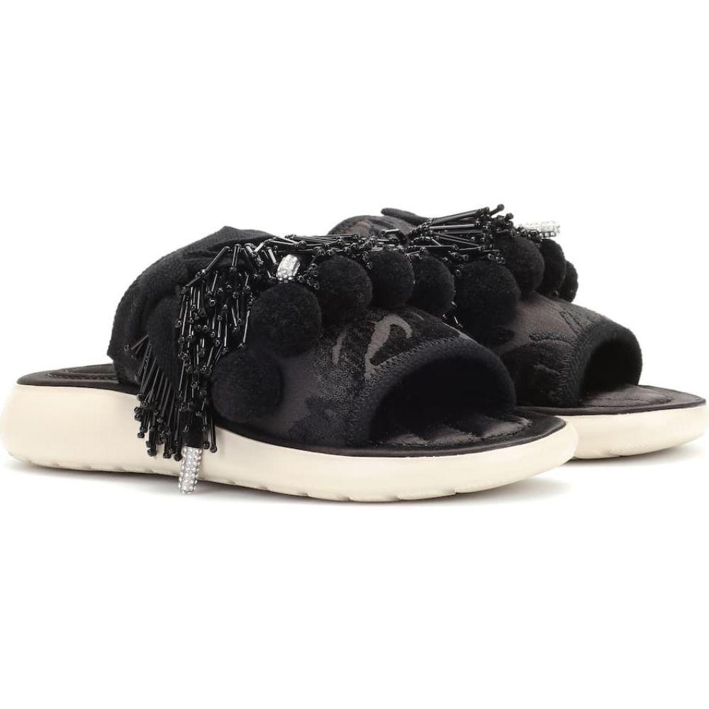 マーク ジェイコブス Marc Jacobs レディース サンダル・ミュール シューズ・靴【Emerson embellished slides】Black