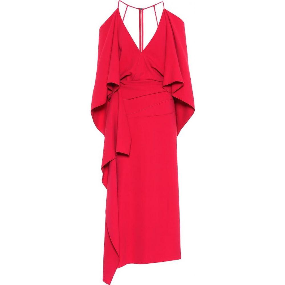 ローラン ムレ Roland Mouret レディース ワンピース ワンピース・ドレス【Vincent crepe dress】Ruby