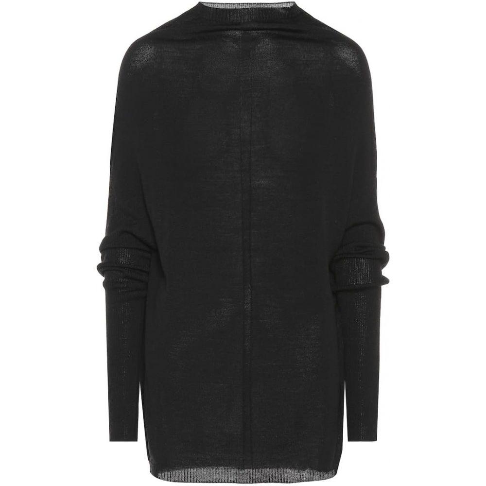 リック オウエンス Rick Owens レディース ニット・セーター トップス【Larry wool sweater】Black