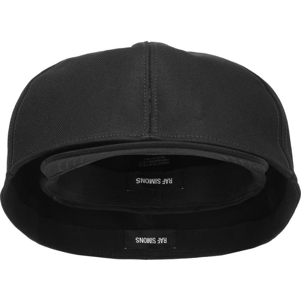 ラフ シモンズ Raf Simons レディース 帽子 【Doubled cotton hat】Black