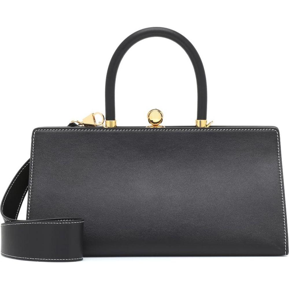 レイショ エ モテュス Ratio et Motus レディース ショルダーバッグ バッグ【Sister leather shoulder bag】Black