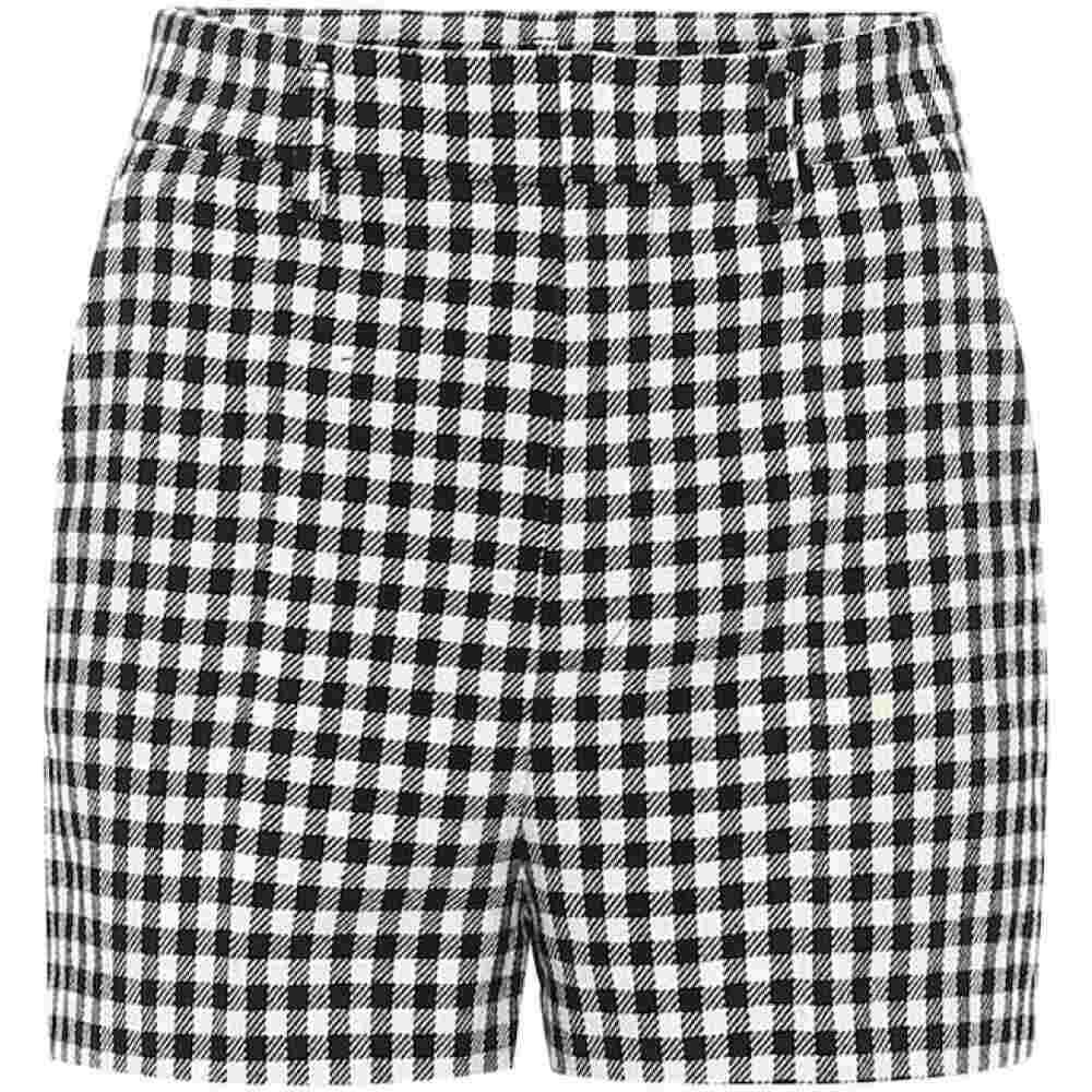 レッド ヴァレンティノ REDValentino レディース ショートパンツ ボトムス・パンツ【Gingham cotton-blend shorts】Nero