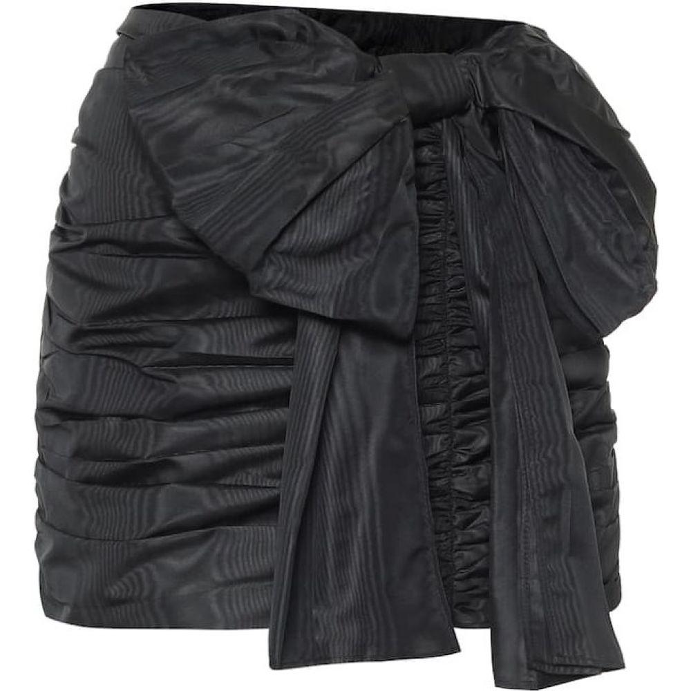 レッド ヴァレンティノ REDValentino レディース ミニスカート スカート【Taffeta miniskirt】Nero