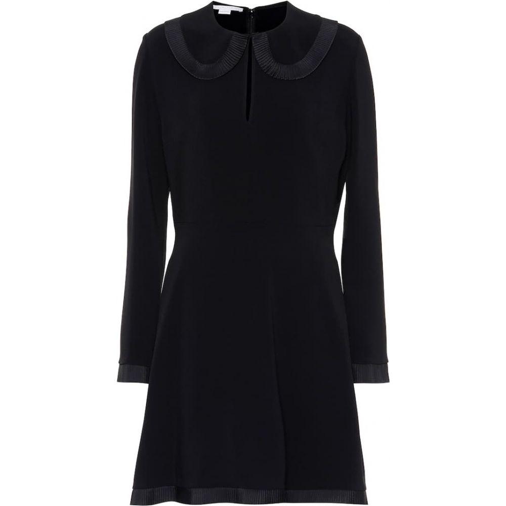ステラ マッカートニー Stella McCartney レディース ワンピース ワンピース・ドレス【Crepe fit-and-flare dress】Black