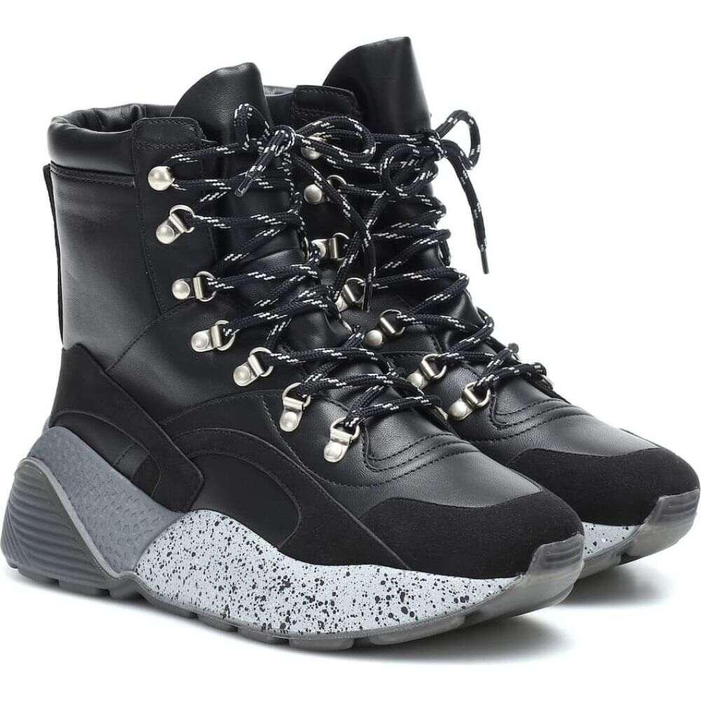 ステラ マッカートニー Stella McCartney レディース ブーツ ショートブーツ シューズ・靴【Eclypse hiking ankle boots】Black/Blk/BK/BK/BW/B
