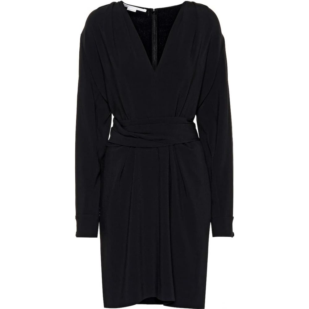 ステラ マッカートニー Stella McCartney レディース ワンピース ワンピース・ドレス【Long-sleeve stretch minidress】black