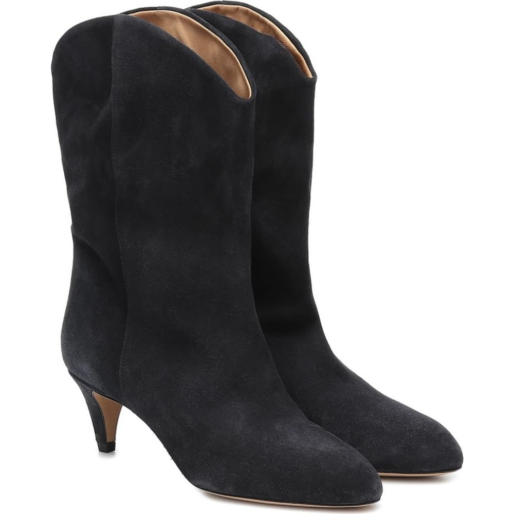 イザベル マラン Isabel Marant レディース ブーツ ショートブーツ シューズ・靴【Dernee suede ankle boots】Faded Black