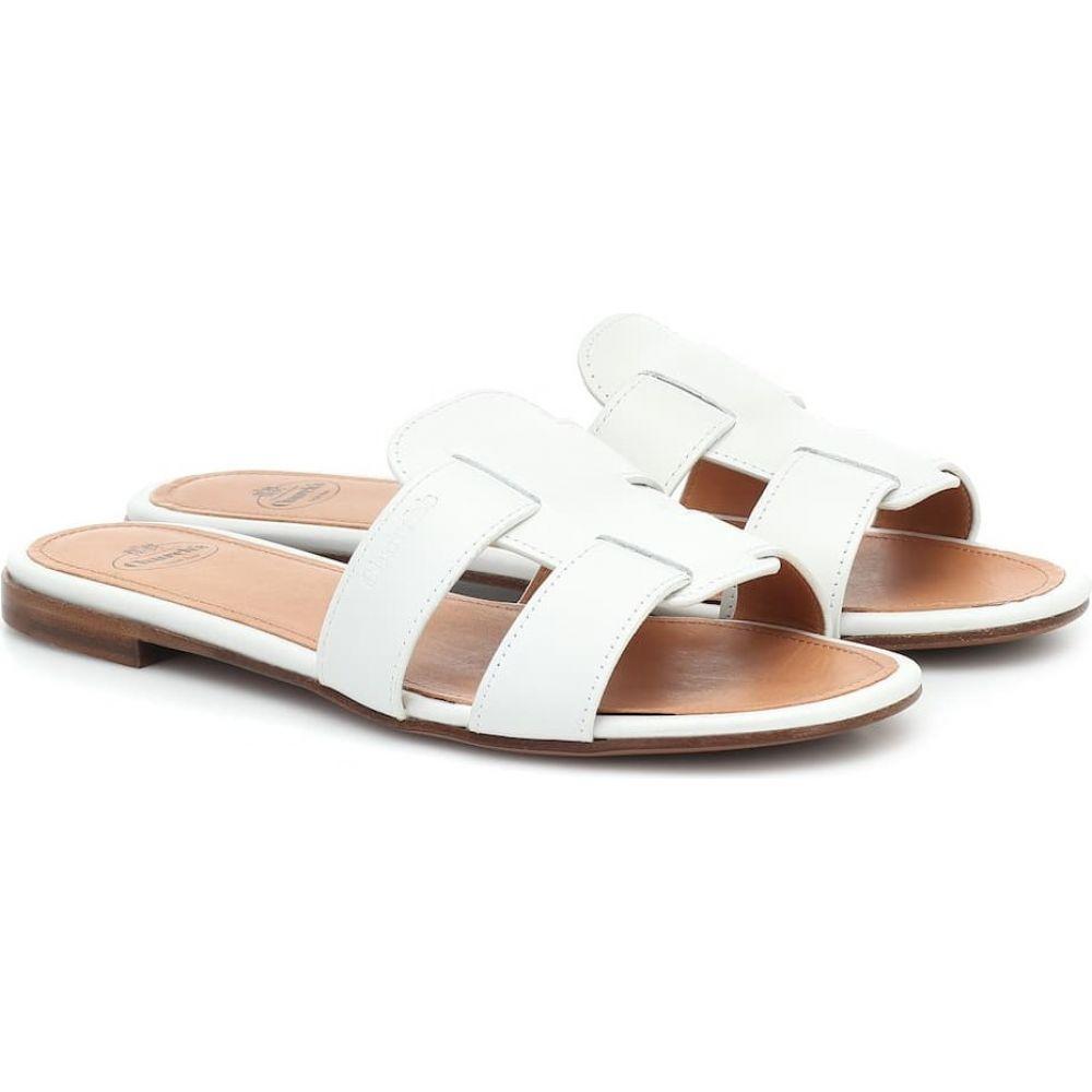 チャーチ Church's レディース サンダル・ミュール シューズ・靴【Dee Dee leather sandals】White