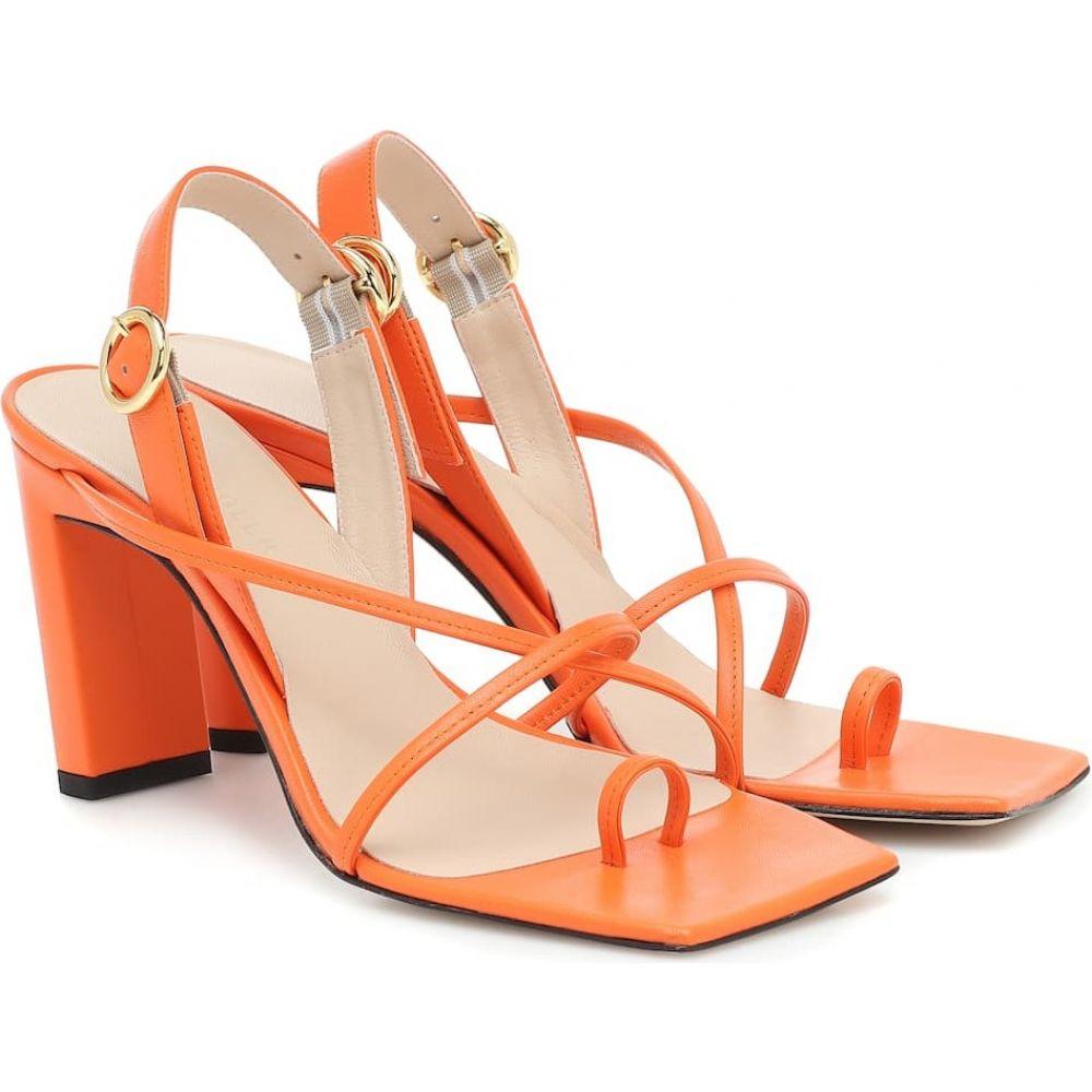 ワンダラー Wandler レディース サンダル・ミュール シューズ・靴【Elza leather sandals】Punch