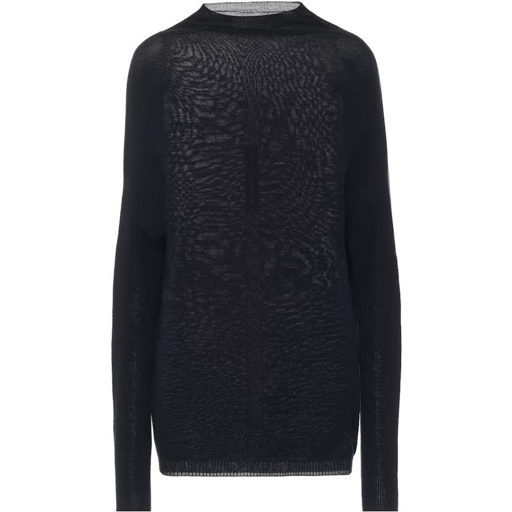 リック オウエンス Rick Owens レディース ニット・セーター トップス【Wool sweater】Lapis