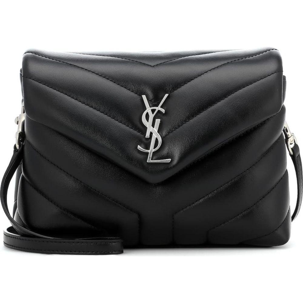 イヴ サンローラン Saint Laurent レディース ショルダーバッグ バッグ Loulou Toy leather shoulder bag Nero 大得価,限定セール