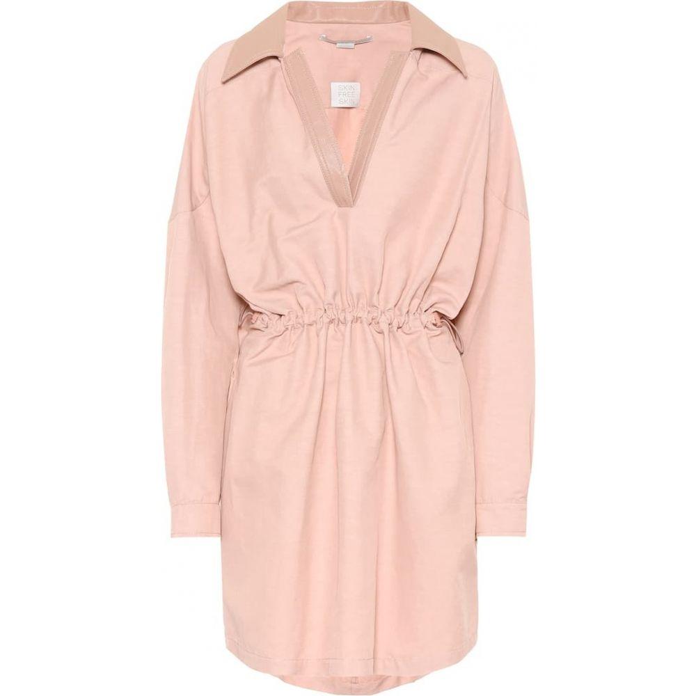 ステラ マッカートニー Stella McCartney レディース ワンピース ワンピース・ドレス【Cotton and linen-blend dress】Primrose