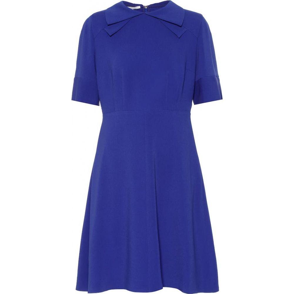 ステラ マッカートニー Stella McCartney レディース ワンピース ワンピース・ドレス【Crepe dress】Royal Blue