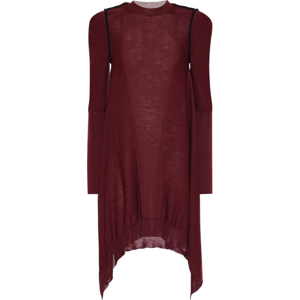 ステラ マッカートニー Stella McCartney レディース ワンピース ワンピース・ドレス【Asymmetrical wool dress】Marine Blu