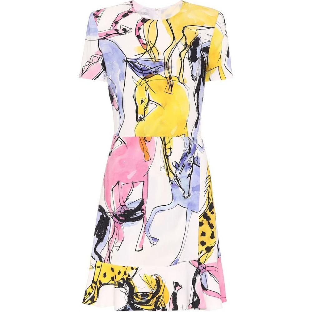 ステラ マッカートニー Stella McCartney レディース ワンピース ワンピース・ドレス【Dariana printed crepe dress】Multicolor