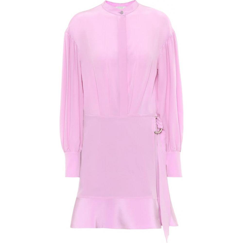 ステラ マッカートニー Stella McCartney レディース ワンピース ワンピース・ドレス【Silk minidress】Lavender