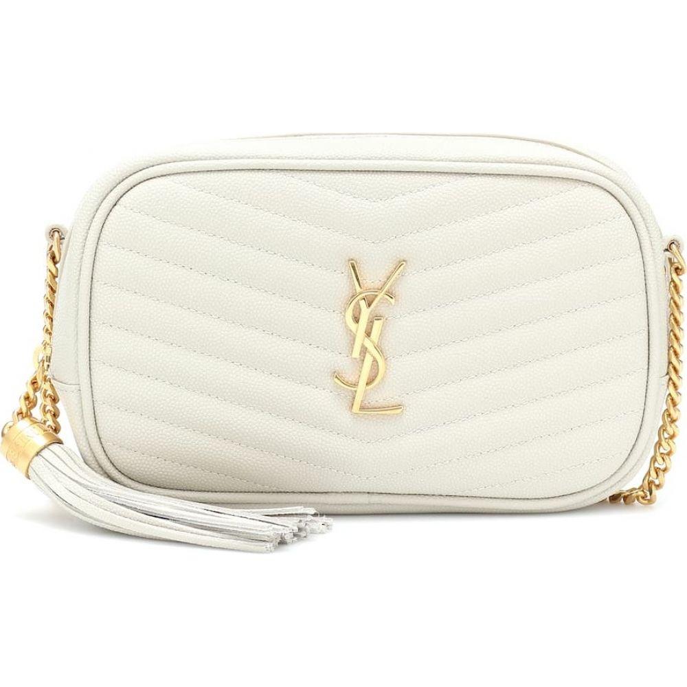 イヴ サンローラン Saint Laurent レディース ショルダーバッグ カメラバッグ バッグ Lou Camera Mini shoulder bag Blanc Vintage 新作,得価