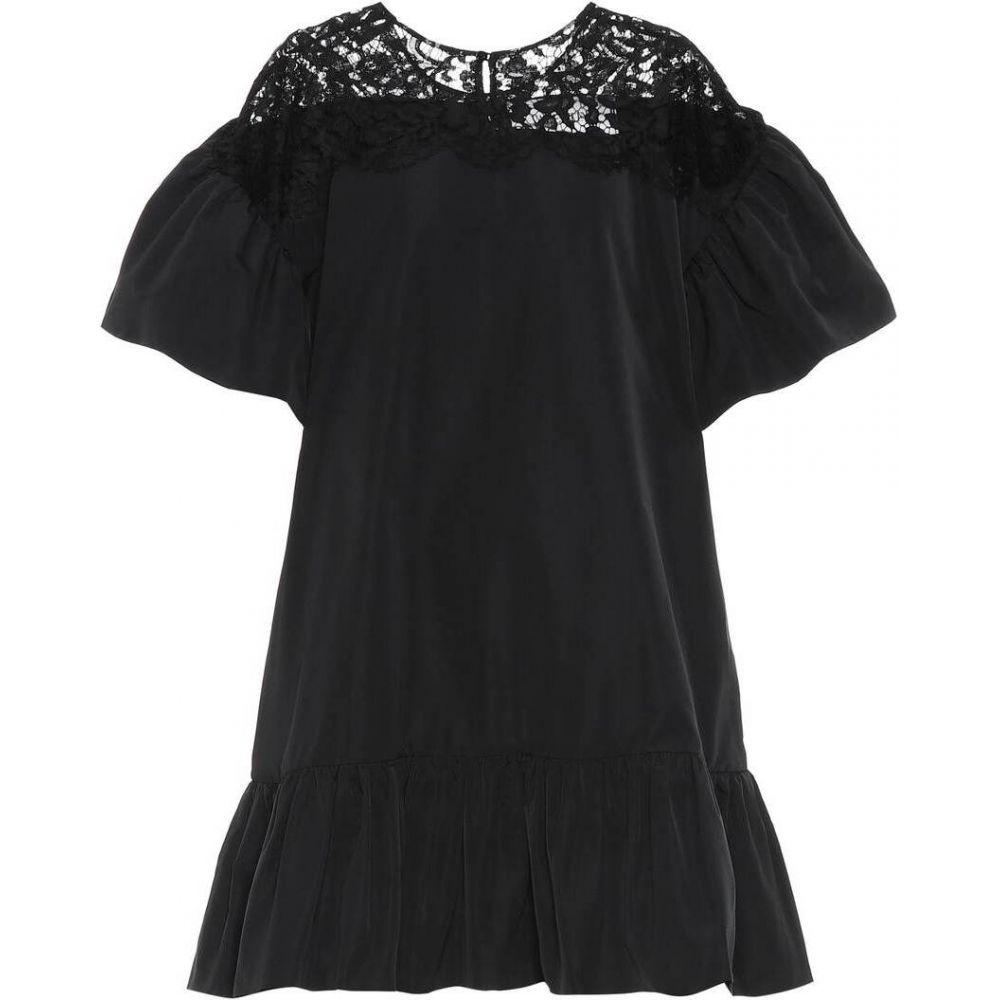 ヴァレンティノ Valentino レディース ワンピース ワンピース・ドレス【Cotton-blend dress】Nero