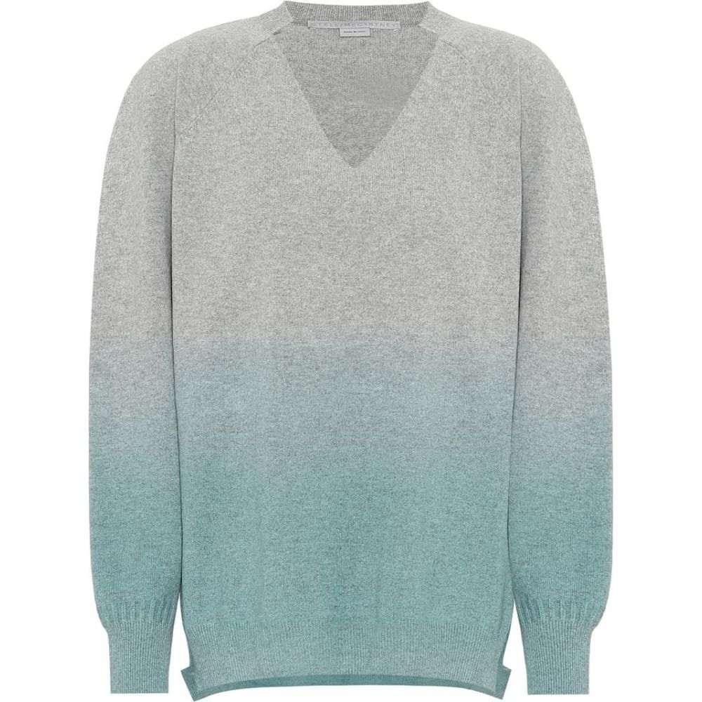 sweater】Greymint レディース Stella McCartney マッカートニー ステラ cashmere-blend トップス【Gradient ニット・セーター