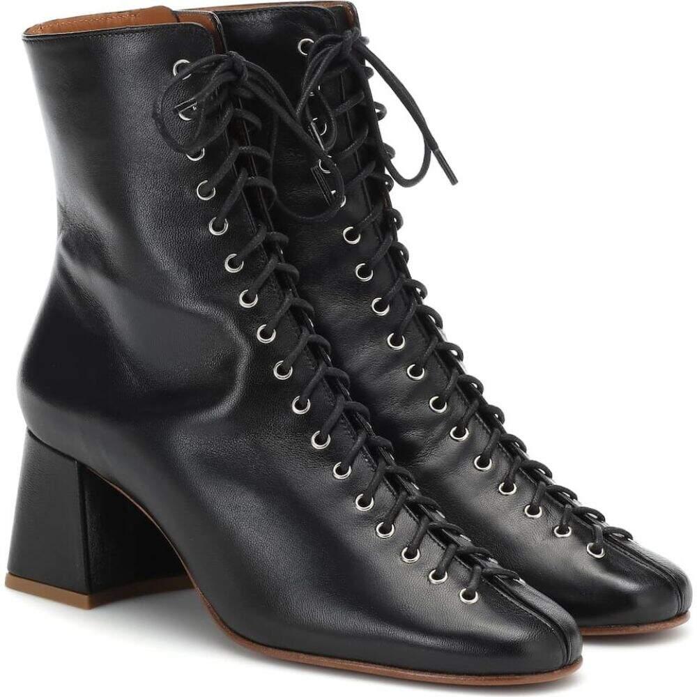 バイ ファー By Far レディース ブーツ ショートブーツ シューズ・靴【Becca leather ankle boots】black