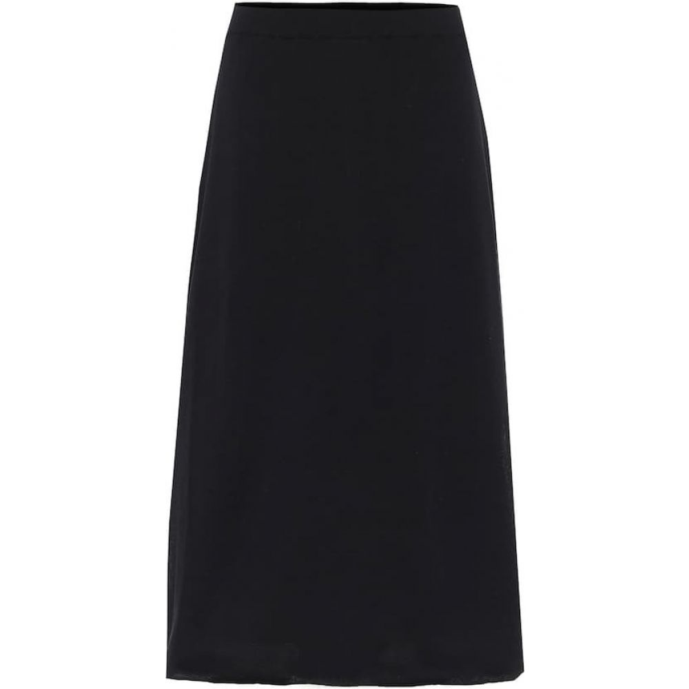 ザ ロウ The Row レディース ひざ丈スカート スカート【Coseti high-rise cotton skirt】Black