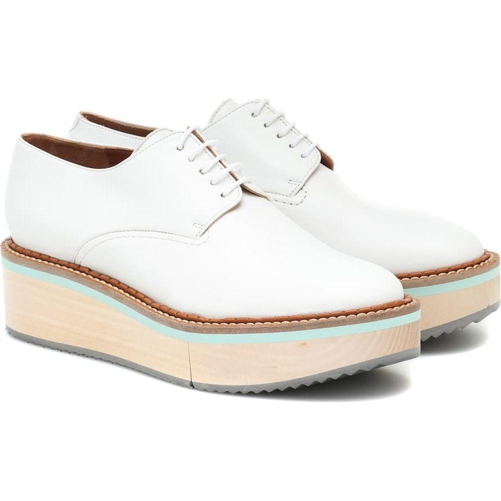 ロベール クレジュリー Clergerie レディース ローファー・オックスフォード シューズ・靴【Brook leather shoes】Wht Nap