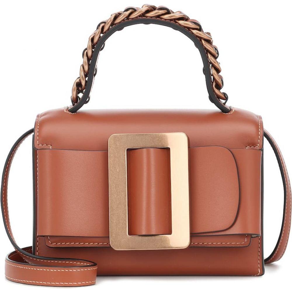 ボーイ Boyy レディース ショルダーバッグ バッグ【Fred leather shoulder bag】Nocciola