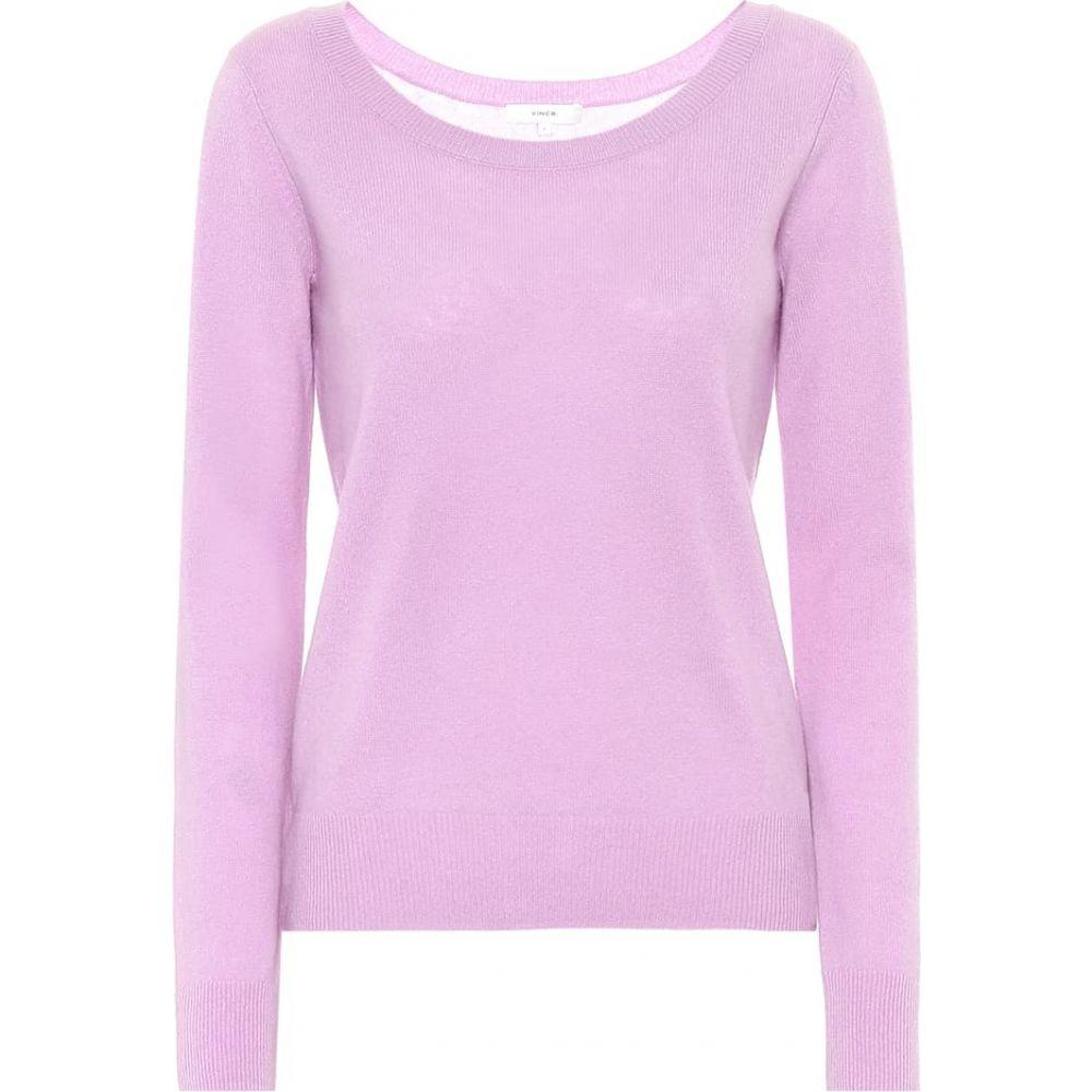 ヴィンス Vince レディース ニット・セーター トップス【Cashmere-blend sweater】Lila