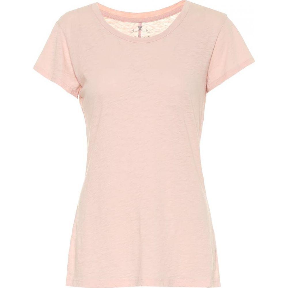 ベルベット グラハム&スペンサー Velvet レディース Tシャツ トップス【Odelia cotton T-shirt】Blush
