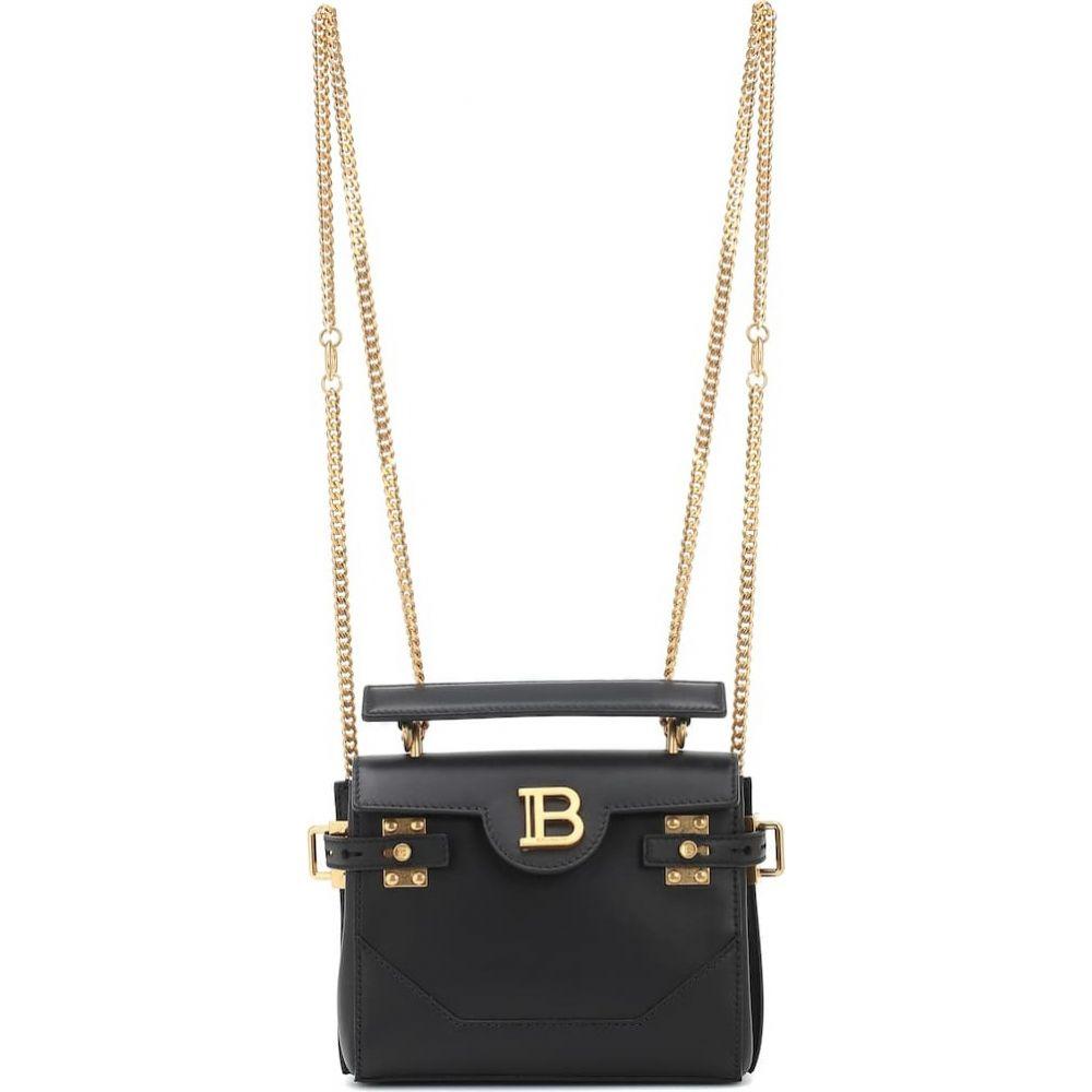 バルマン Balmain レディース バックパック・リュック バッグ【BBuzz 18 leather backpack】Noir