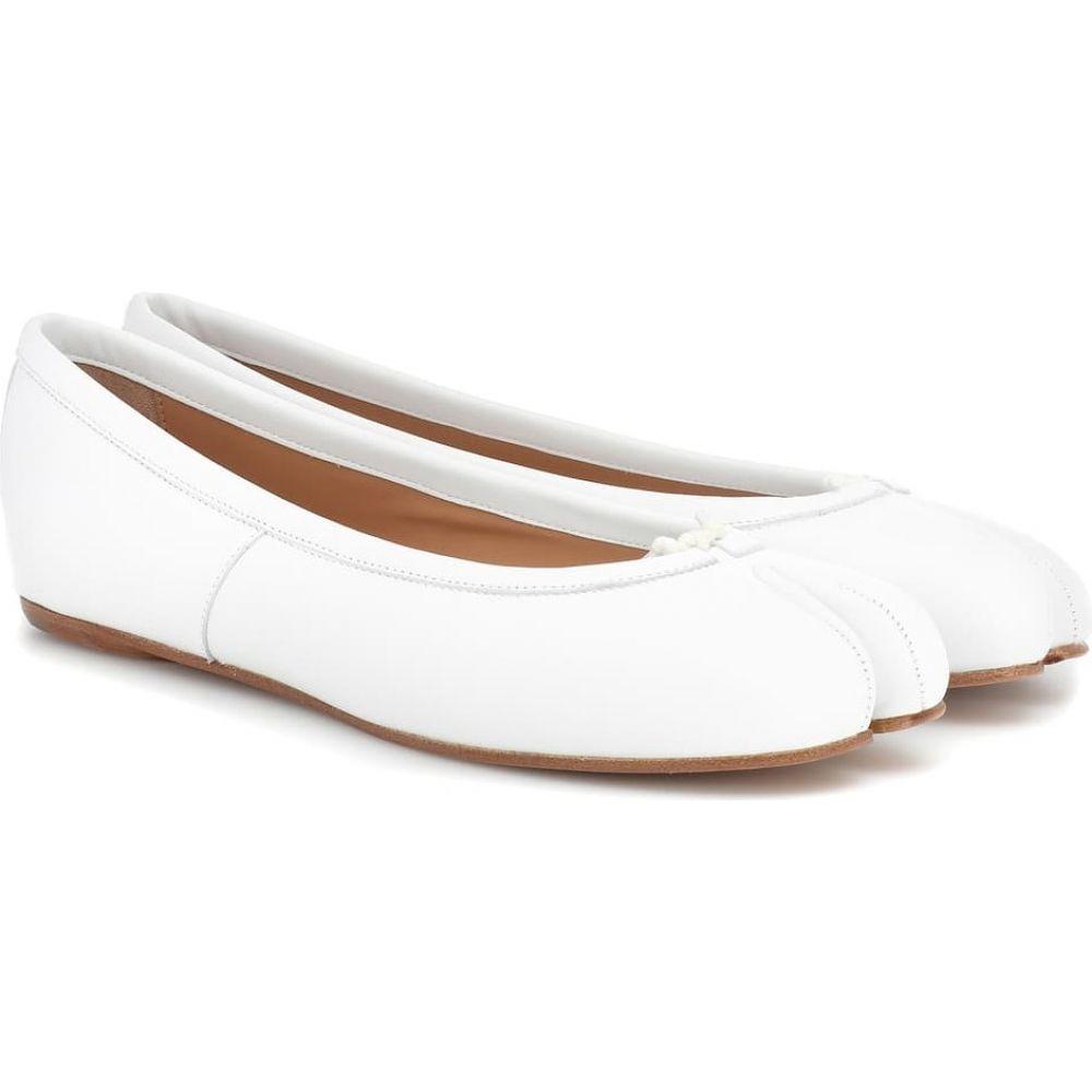 メゾン マルジェラ Maison Margiela レディース スリッポン・フラット シューズ・靴【Tabi leather ballet flats】